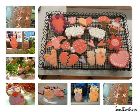 Martha Stewart Valentine's Day Sweet Dani B Cookie Segment