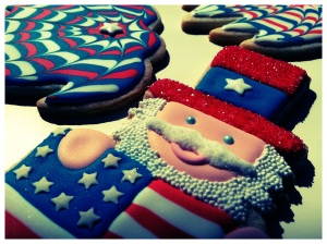 SDB Uncle Sam Cookie
