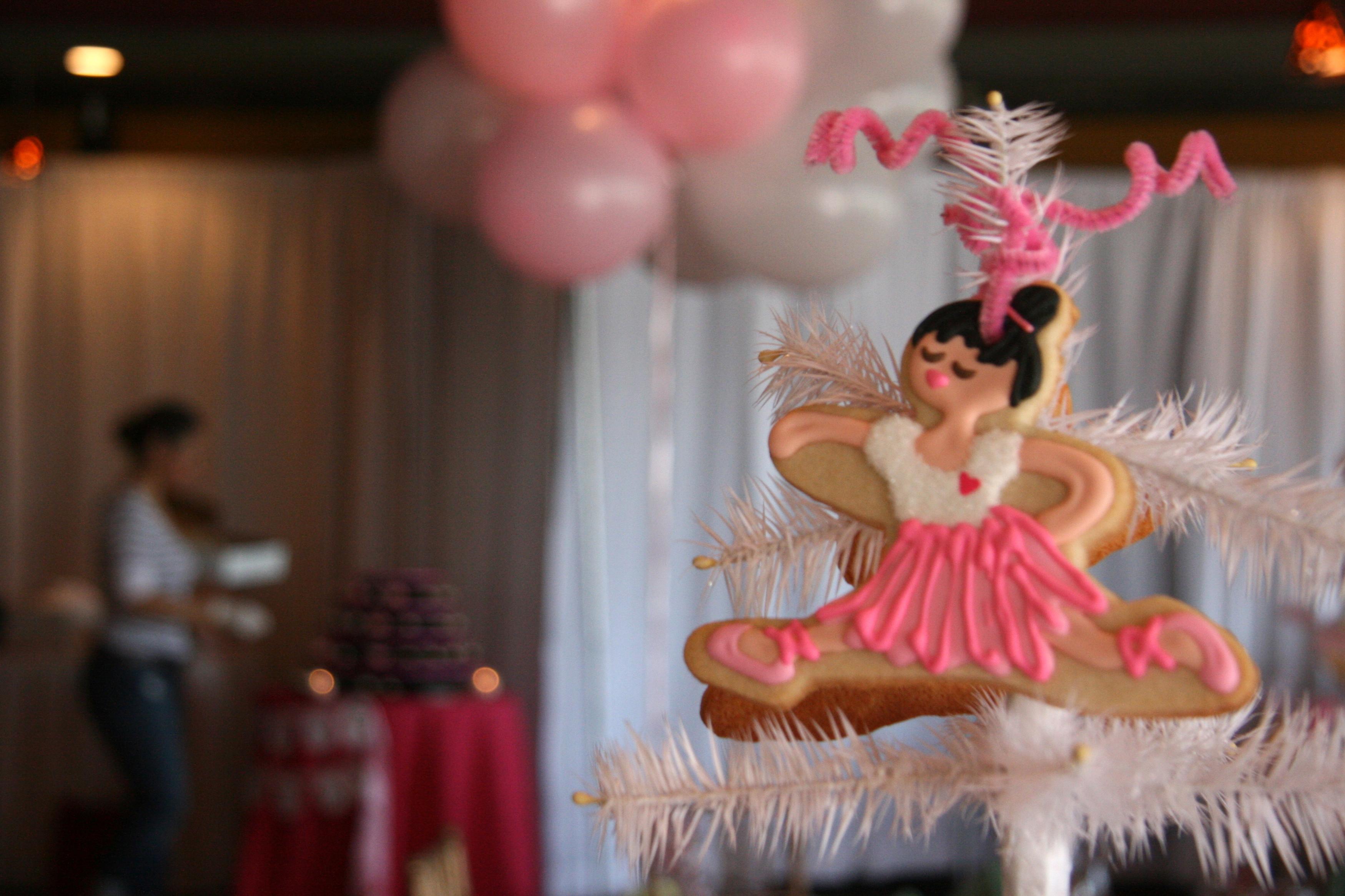 Split ballerina topper