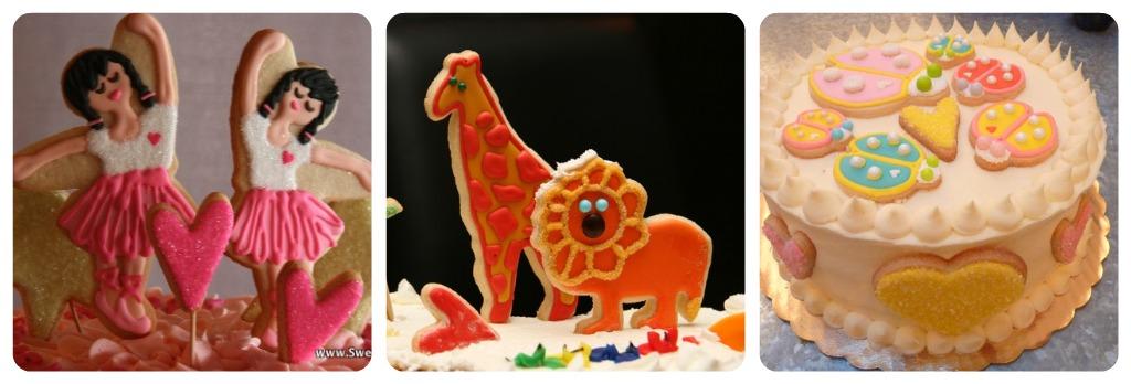 Sweet Dani B Cake Topper Cookies