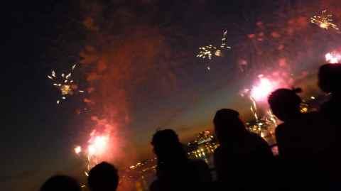 fireworks begin