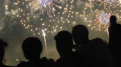 silos in fireworks