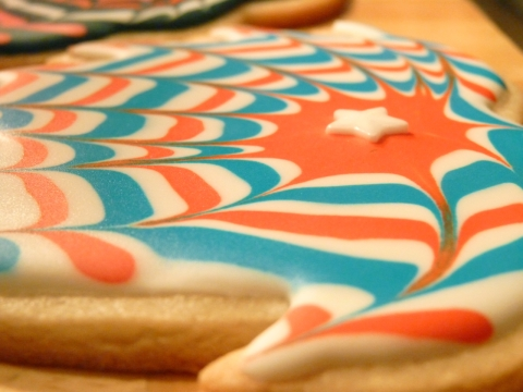 firework cookie