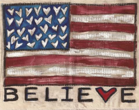 believe flag