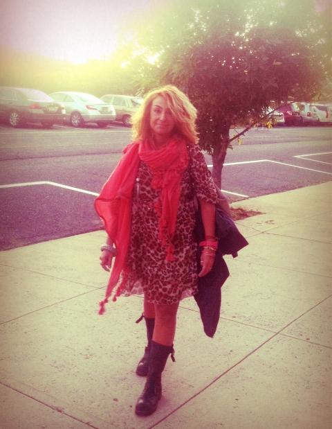 Me leopard dress boots
