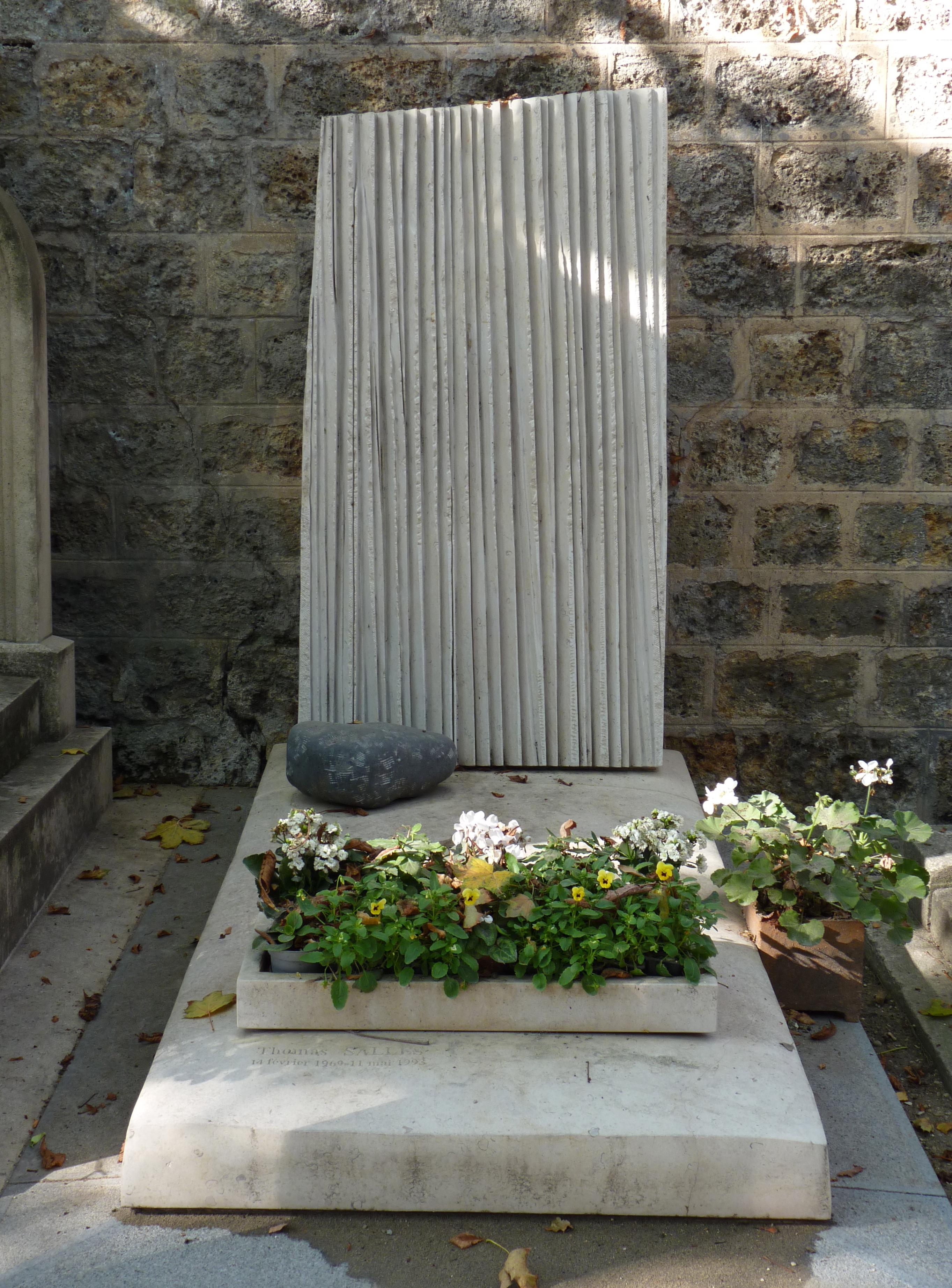 modern style grave