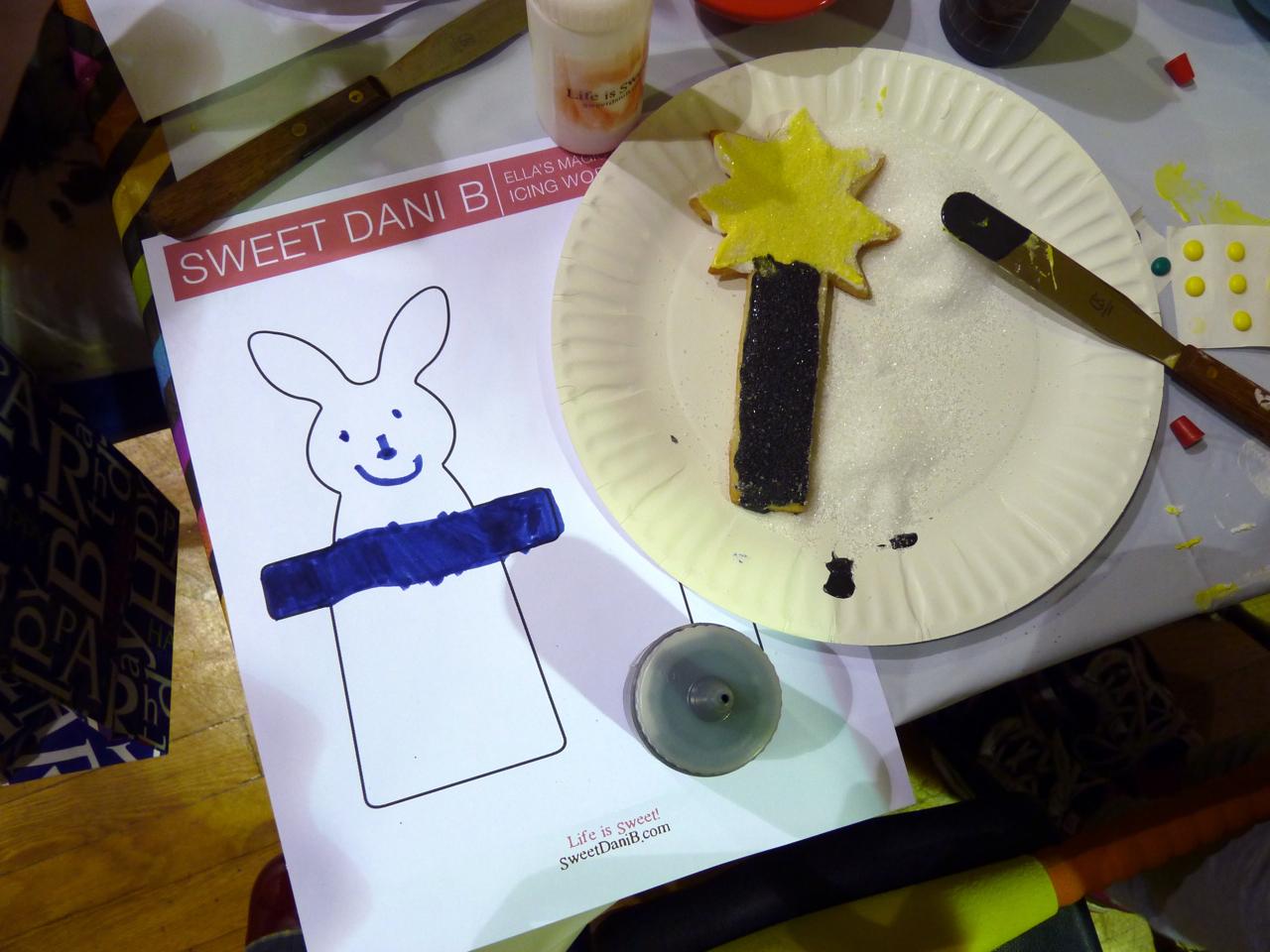 bunny and wand
