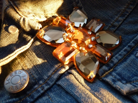 Jcrew brooch