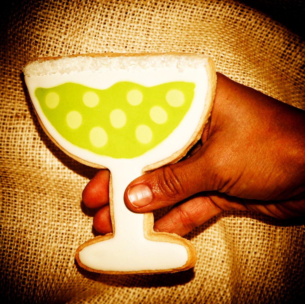 SDB Margarita Custom Cookie