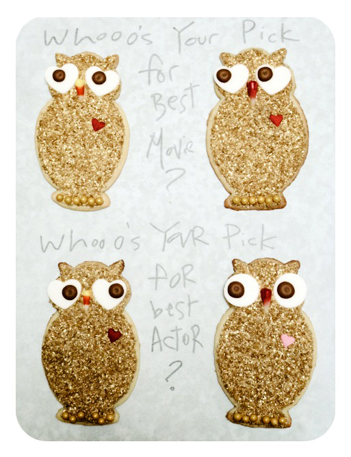 Sweet Dani B Custom Oscar Owl Cookies Serving idea