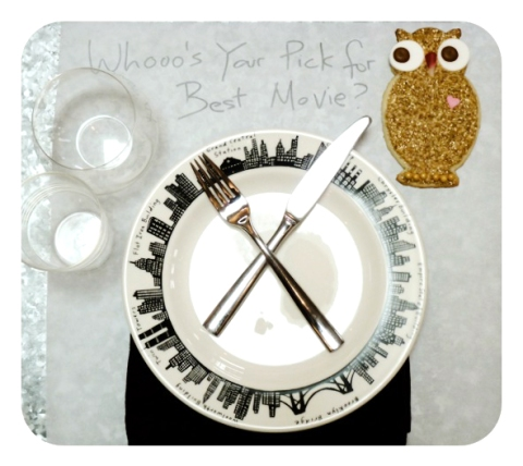 SDB Owl Decorative Cookie Oscar Place Setting