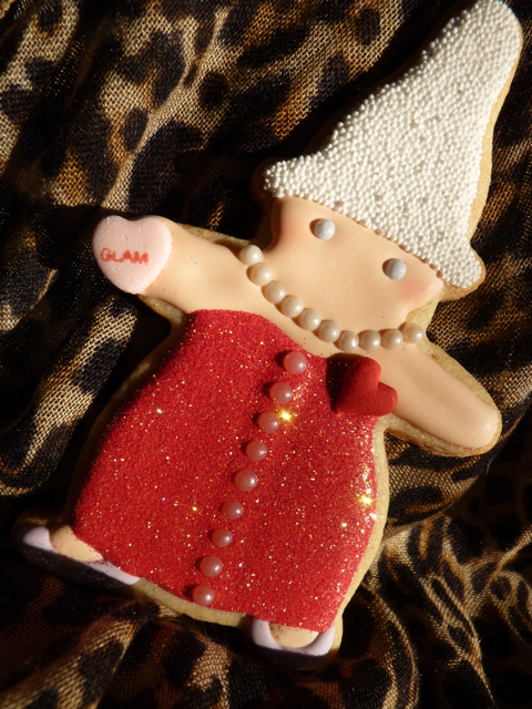 Sweet Dani B Glam Martha Gnomi cookie