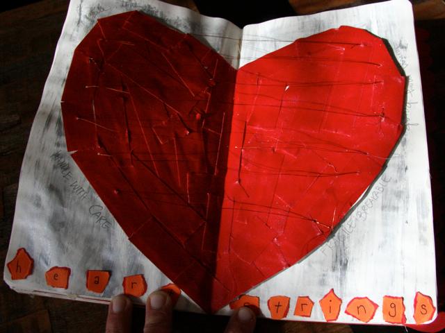 Sweet Dani B Sketchbook Project Heartstrings