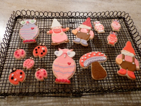 SweetDaniB decorative Valentine Cookies on Martha Show